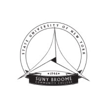 Broome Community College school logo