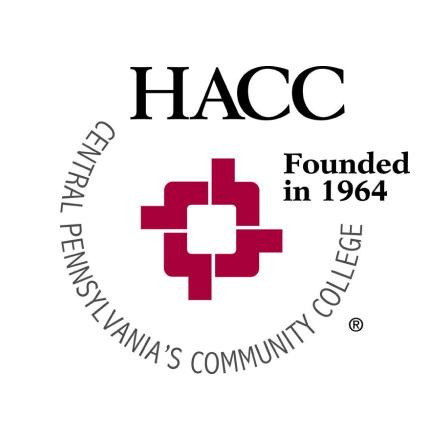 HACC, Central Pennsylvania's Community College school logo